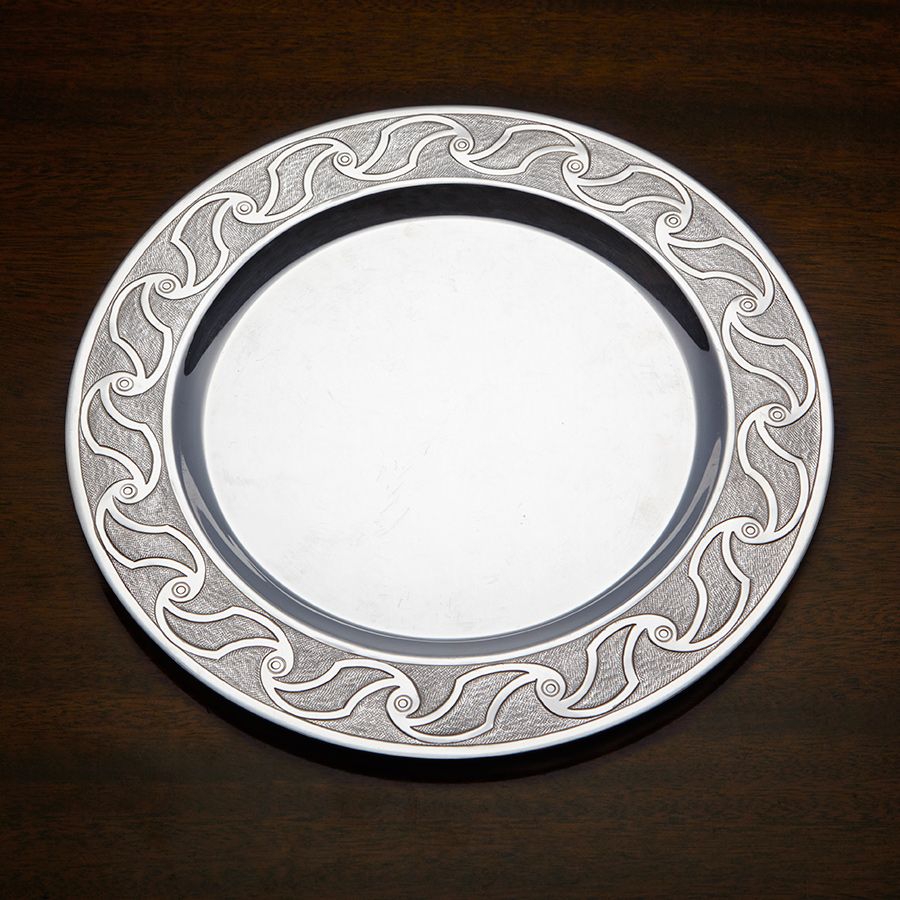 Silver Trust Plate Competition Wilfred Bevan