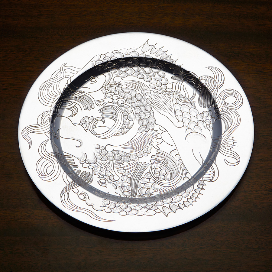 Silver Trust Plate Competition Judith Brown