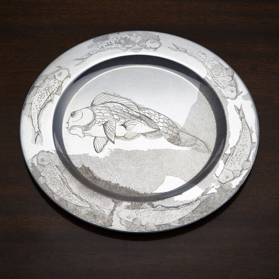 Silver Trust Plate Competition Wendy Sharpe