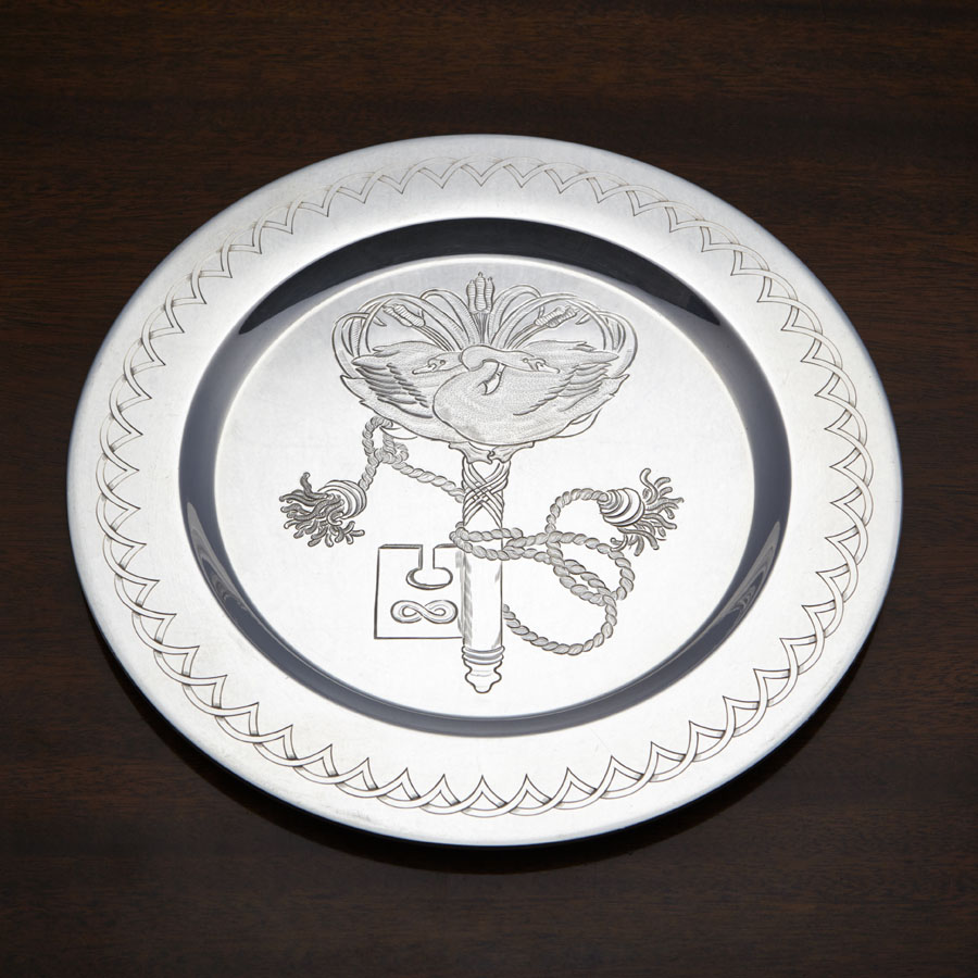 Silver Trust Plate Competition Rosemary Highnett