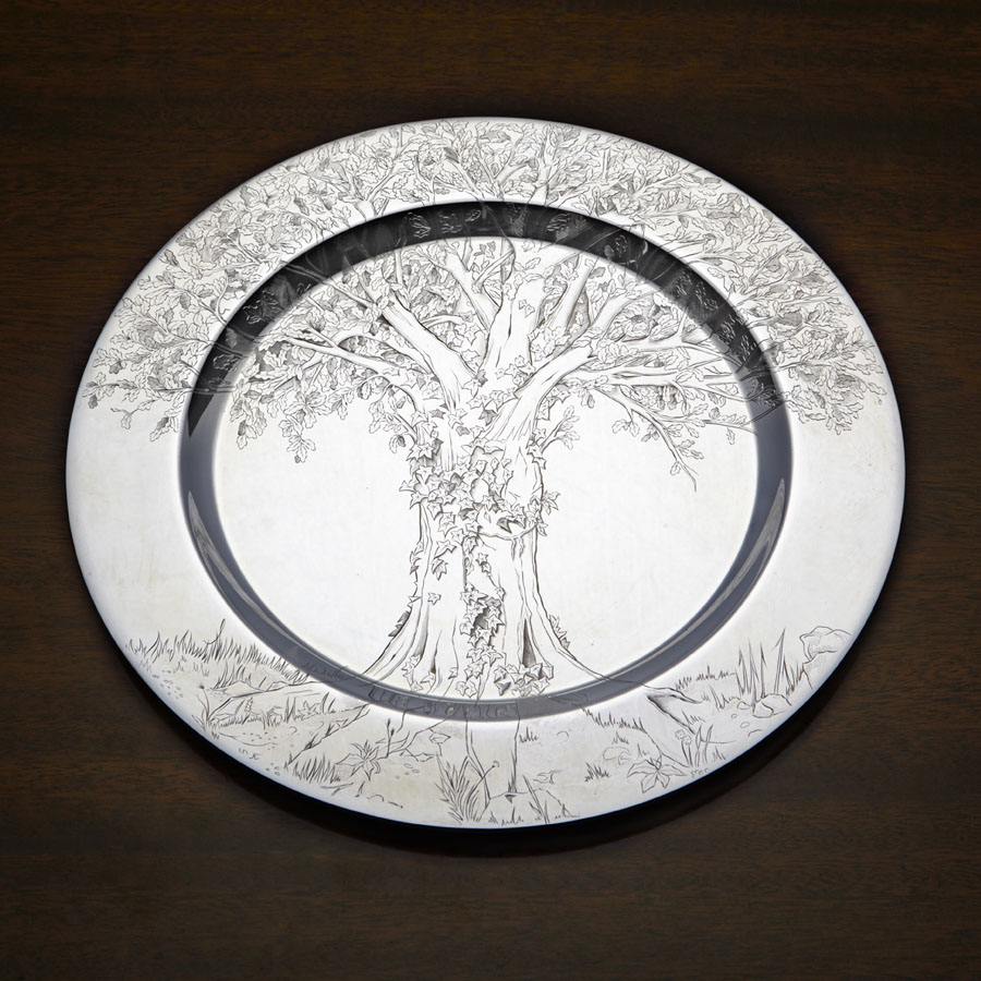 Silver Trust Plate Competition Judyth Swift