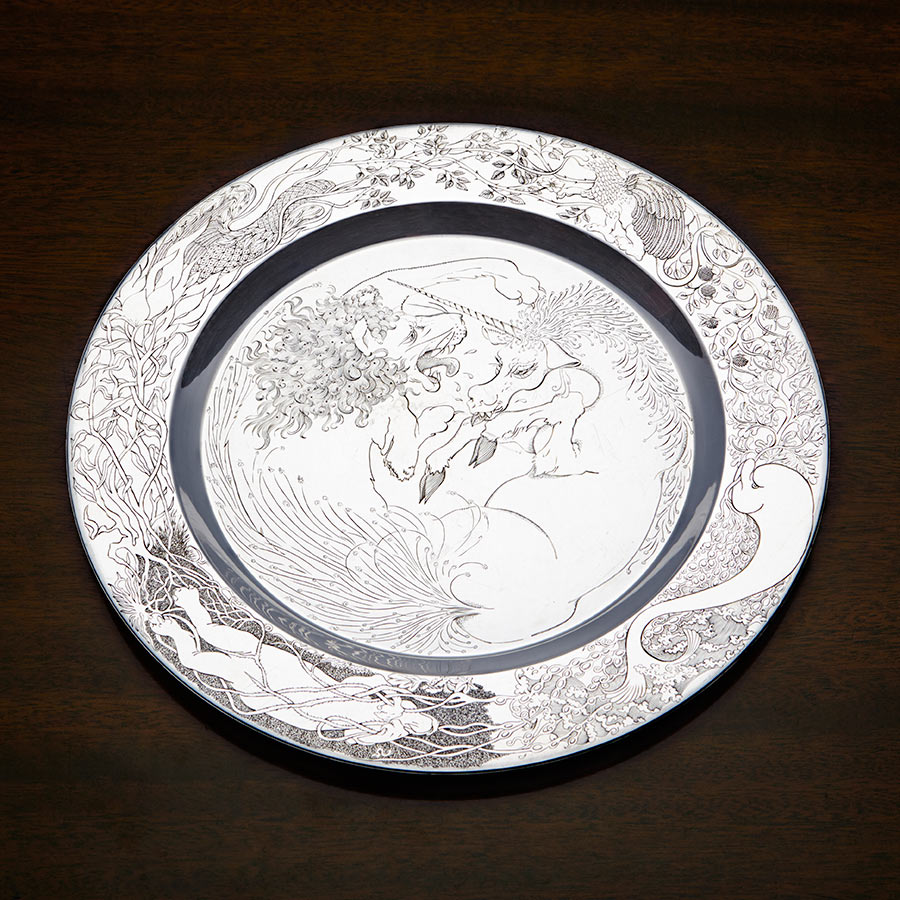 Silver Trust plate competition Pamela Anderson