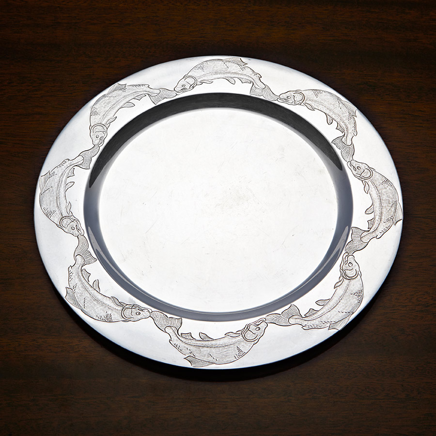 Silver Trust Plate Competition Fay Rutherford